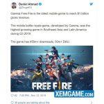 Battle Royale do người Việt phát triển Free Fire Mobile chính thức cán mốc doanh thu 1 tỷ USD