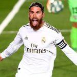 Ramos cán mốc 100 bàn trong màu áo CLB