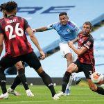 Man City đẩy Bournemouth đến gần bờ vực xuống hạng