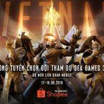 Liên Quân Mobile Việt Nam công bố vòng tuyển chọn đội tuyển tham dự SEA Games 30