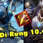 Chi tiết Riot chỉnh sửa 7 vị tướng để có thể mang vào rừng phiên bản 10.4