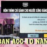 PUBG Mobile: Game thủ muốn bật khóc vì hòm thính BLACKPINK đem đến… 10 năm khoá acc