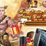 Tân Thiên Long Mobile VNG tung hàng loạt giải thưởng giá trị mừng phiên bản mới