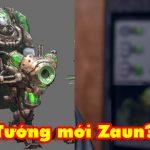 Riot Games vô tình để lộ tướng mới đến từ Zaun vô cùng quái dị?