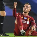 Klopp lo lắng về chấn thương của Henderson