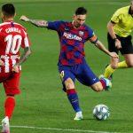 Barca chia điểm khi Messi ghi bàn thứ 700