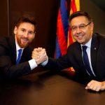 Chủ tịch Barca: 'Messi muốn ở lại'
