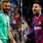Benzema tăng tốc bám đuổi Messi