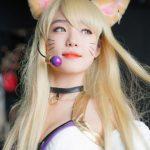 Không thể rời mắt với cosplay Ahri K/DA ngọt ngào thanh khiết