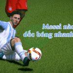 Fifa Online 3: Chỉ số tốc độ ảnh hưởng thế nào đến tốc độ rê bóng?