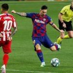 HLV Barca né tránh tin đồn về Messi