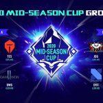 LMHT: Lịch thi đấu Mid Season Cup