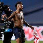 Neymar có thể bị treo giò vì đổi áo
