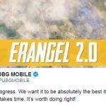 PUBG Mobile: Tencent thông báo rằng việc tân trang Erangel 2.0 có thể sẽ chậm trễ