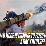 PUBG mobile hé lộ tên chế độ cho người chơi sử dụng máy bay trực thăng