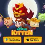 Rescue Kitten - Rope Puzzle: game giải đố Việt thú vị trên nền tảng di động