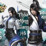 Song Kiếm Loạn Vũ - Game kiếm hiệp siêu phẩm sắp được phát hành tại VN