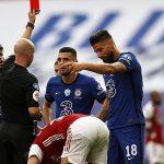 Chelsea bức xúc với thẻ đỏ của Kovacic