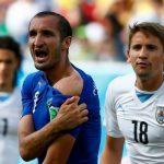 Chiellini chưa từng trách Suarez