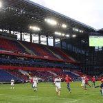 Nga giới hạn khán giả vào sân ở mức 10%