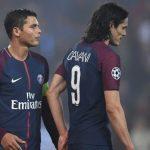 Cavani, Thiago Silva rời PSG