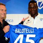 Chủ tịch Brescia hối hận vì tuyển mộ Balotelli