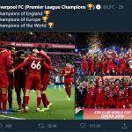 Cầu thủ Liverpool ăn mừng thế nào