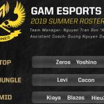 """GAM Esports chính thức công bố đội hình VCS Mùa Hè 2019 với toàn """"tay to"""""""