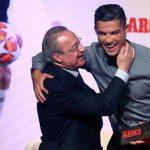 Perez chúc mừng sinh nhật Ronaldo