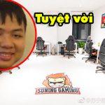 LMHT: Choáng với gaming house của Suning Gaming
