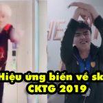 Điệu nhảy múa quạt huyền thoại sẽ được tái hiện trong hiệu ứng biến về của skin CKTG 2019