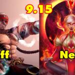 Riot Games công bố những vị tướng được buff/nerf trong phiên bản 9.15