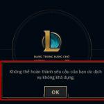 """Liên Minh Huyền Thoại Việt Nam bị lỗi toàn server, dính hàng chờ 9000 và """"dịch vụ không khả dụng"""""""
