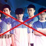 Đội tuyển MVP của Hàn Quốc chính thức bị khai tử