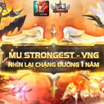 Nhìn lại chặng đường MU Strongest VNG đồng hành cùng game thủ Việt trong 1 năm qua
