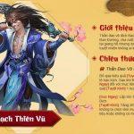 Bạch Thiên Vũ giúp hoàn thiện đội hình Lý Thám Hoa trong Tân Chưởng Môn VNG