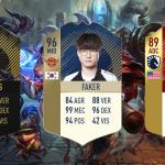Khi các game thủ chuyên nghiệp LMHT xuất hiện trong các thẻ FIFA Ultimate Team