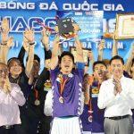 Hà Nội đoạt Siêu Cup quốc gia 2020