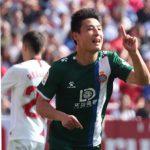 Wu Lei chạm mốc 10 bàn ở Tây Ban Nha