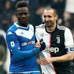Balotelli khẩu chiến với Chiellini