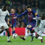 Rudiger rụt rè khi xin đổi áo với Messi