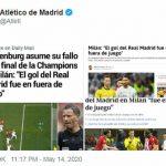 Atletico phản ứng về bê bối chung kết Champions League