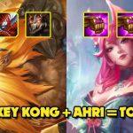 """DTCL mùa 4: Hướng dẫn xây dựng đội hình """"Bonkey Kong 2.0"""" và Ahri"""