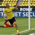 Haaland toả sáng ngày Bundesliga trở lại