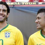 Neymar mừng ngày sinh nhật Kaka
