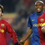 Eto'o kể công với Messi