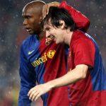 Eto'o xem Messi là 'Thần Bóng đá'