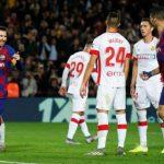 HLV Mallorca lo bị Messi hành hạ
