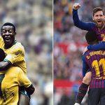 Messi sắp san bằng kỷ lục của Pele