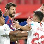 Pique: 'Barca rất khó vô địch La Liga'